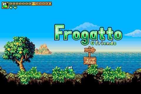 Viva aventuras com o sapinho Frogatto