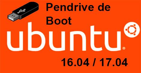 Crie um pendrive de instalação do Ubuntu 16.04/17.04 facilmente